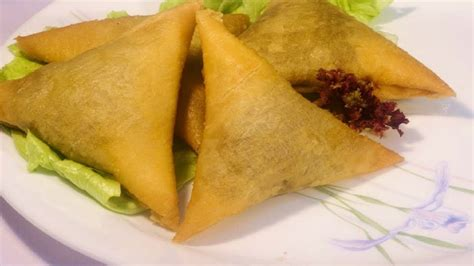 tringle cuisine triangle samosa with roll sheets bite size