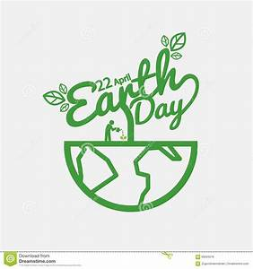 Earth Day. Stock Vector - Image: 68203376
