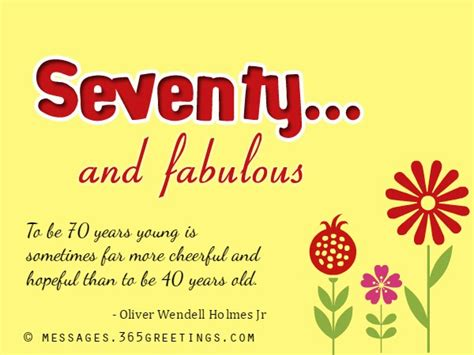 70th Birthday Wishes And Messages 365greetingscom