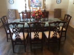 thomasville dining room sets thomasville traditional mahogany dining room set with 9 pieces ebay