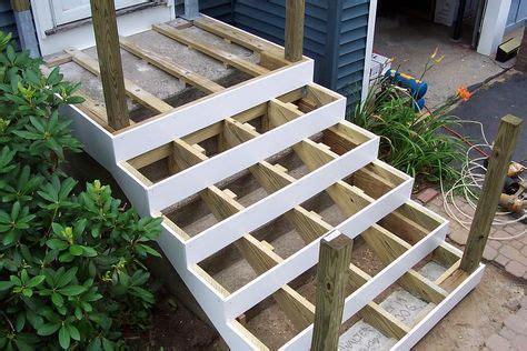 deck  concrete stoop deck  concrete concrete