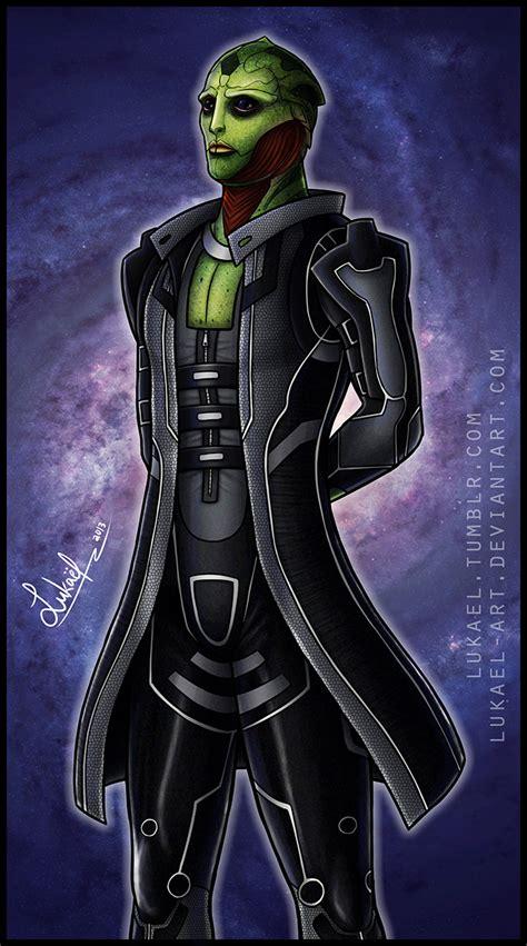 Mass Effect Thane Krios By Lukael Art On Deviantart