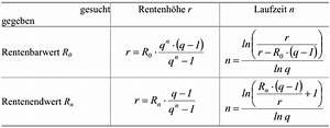 Rente Berechnen : wissensdatenbank wirtschaftsrecht betriebswirtschaftslehre 2 investitionsrechnung und ~ Themetempest.com Abrechnung
