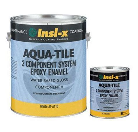 Insl X Cabinet Coat Home Depot by Coatings Insl X Aqua Tile Water Based Gloss Epoxy