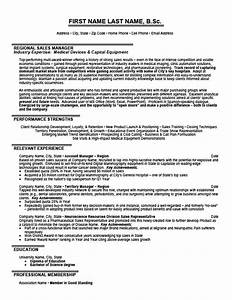 Regional sales manager resume template premium resume for Regional sales manager resume template