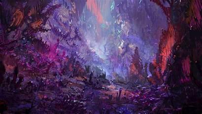 Science Fiction Digital Cyberpunk Illustration Wallpapers Artist