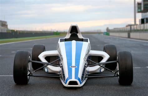 2018 Formula Ford Race Car Starts Its Engine In Frankfurt