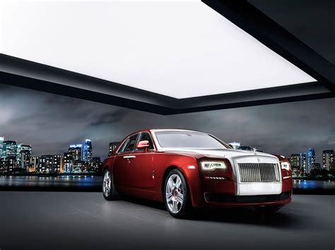 roll royce ghost one off rolls royce ghost red edition for saudi