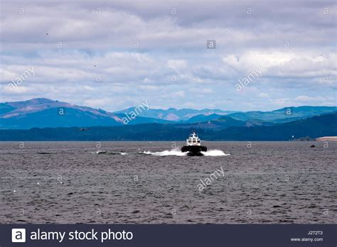 Small But Powerful Boat by Columbia River Stock Photos Columbia River