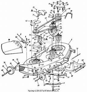 Mtd 145v834h401  1995  Parts Diagram For Mowing Deck