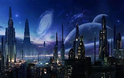Future Space Background Futuristic Photoshop Cool Earth