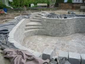 DIY Natural Swimming Pool Building