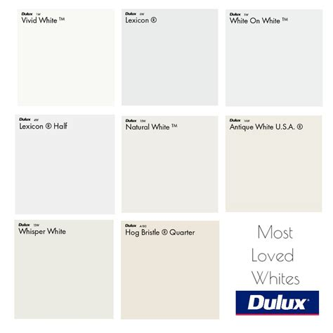 dulux  loved white colour palette mood board style
