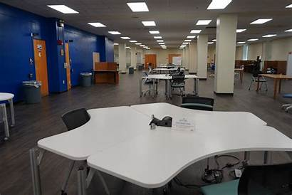 Libraries Fall Uta Prepares Distancing Rearranged Second