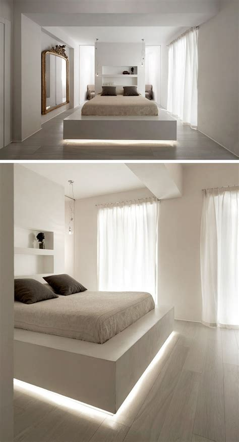 Led Leiste Bett by 9 Exles Of Beds With Lighting Underneath