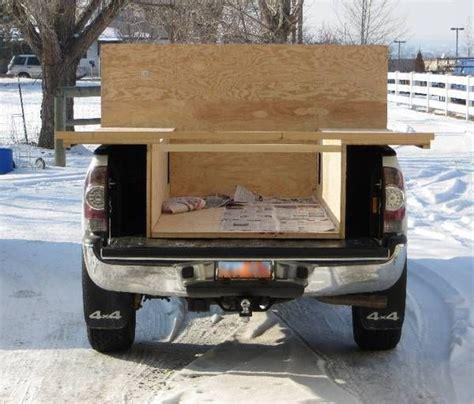 camper truck build plans trailer own campers rv glen bed camping shells diy built trailers slide pickup homemade tacomaworld conversion