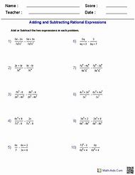 Best Rational Expressions - ideas and images on Bing | Find what you ...