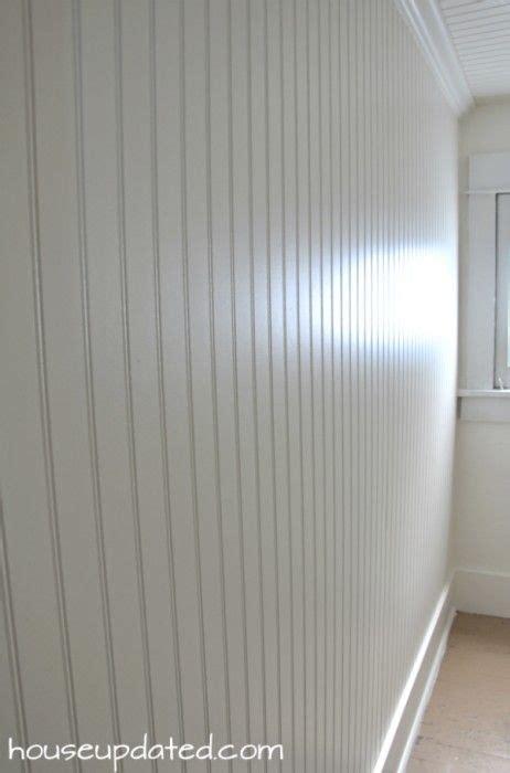 diy   install beadboard  walls  ceilings