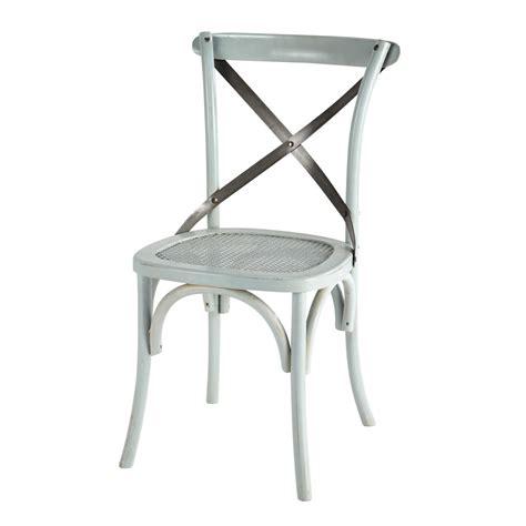 chaise bleue chaise bistrot achat vente de chaise pas cher