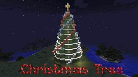 how to make a big christmas tree minecraft how to build a tree