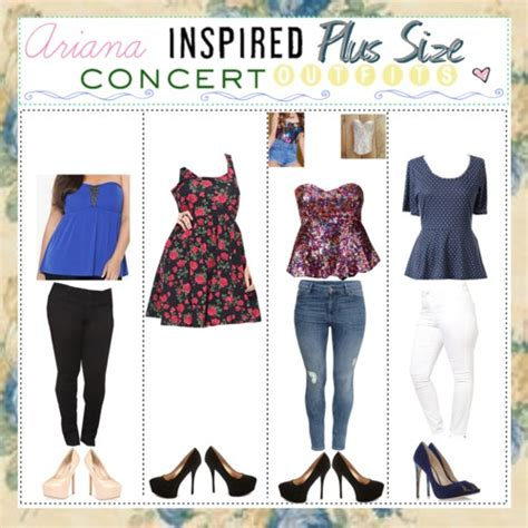 - Ariana inspired Plus Size concert outfits....