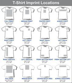 left chest logo placement template graphic placement for youth t shirt search tips youth and silhouettes