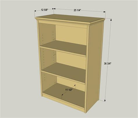 Compact Bookcase Buildsomethingcom