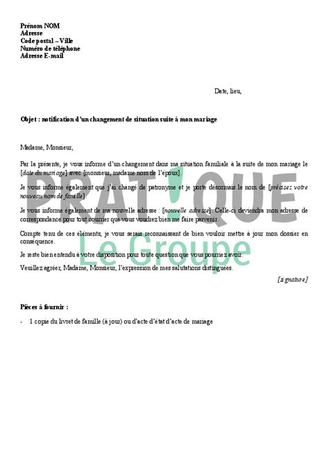 Modification De Situation Caf by D 233 Claration 224 Sa Cpam D Un Changement De Situation Suite 224