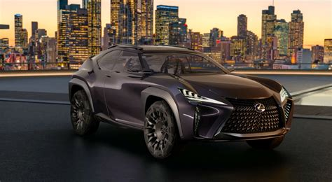 video  lexus ux subcompact crossover concept lexus