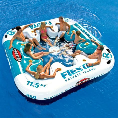 sportsstuff island floating water 8