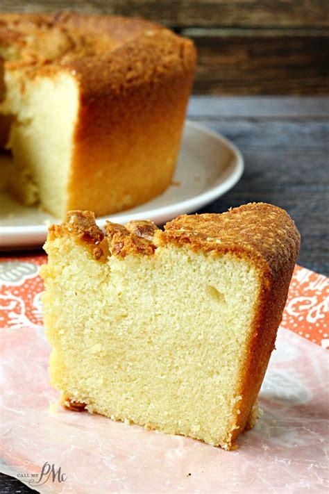 sour cream pound cake recipe call  pmc