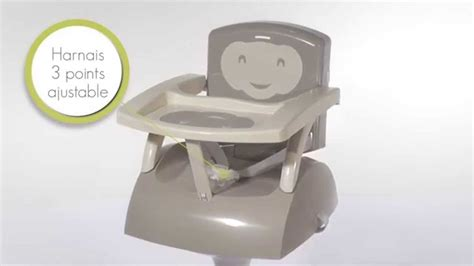 chaise pour bebe table le rehausseur de chaise thermobaby