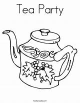 Coloring Tea Boston Popular sketch template