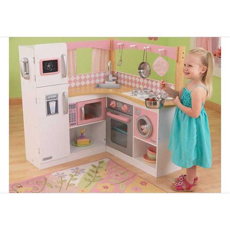 cuisine jouet fille cuisine pour enfant en bois grand gourmet corner kitchen