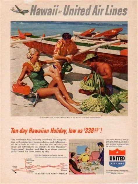 united air lines ad hawaiian holiday