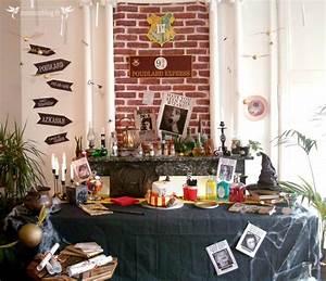Deco Harry Potter Anniversaire : idee decoration harry potter ~ Melissatoandfro.com Idées de Décoration