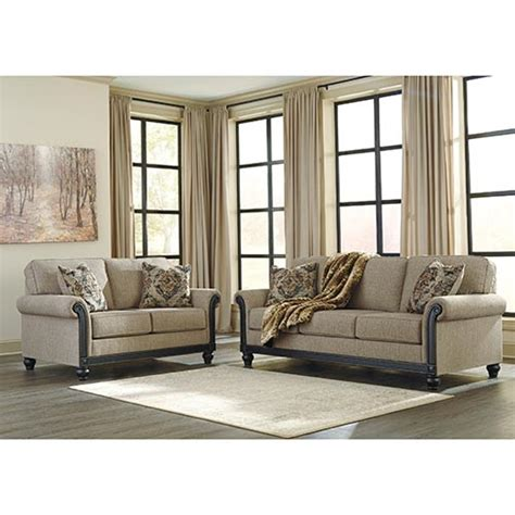 Living Room Furniture At Rent A Center by Rent To Own Blackwood Taupe 2 Sofa Set