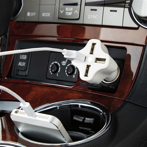 port usb car charger  container store