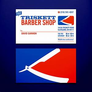 20 beautiful roundup of barber business cards wpaisle for Barber logos business cards