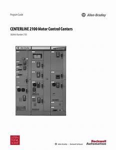Allen Bradley Centerline 2100 Wiring Diagram