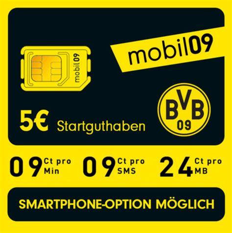 bvb mobil handy prepaid sim karte ohne vertrag im