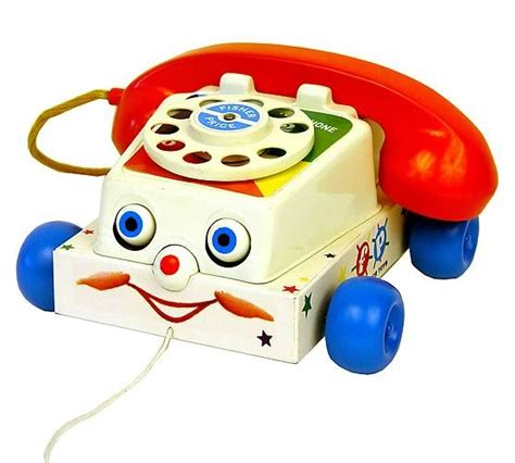 Fisher Price Classics Chatter Telephone Old Fashioned