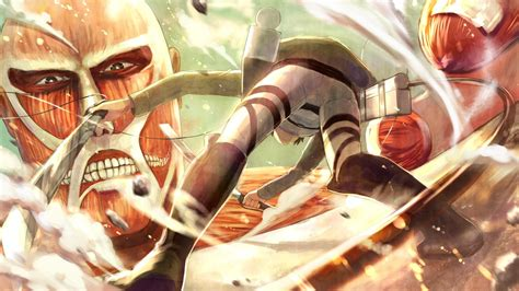 shingeki  kyojin attack  titan  wallpaper