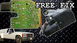 Gm Wiper Motor Problem Fix Free Repair