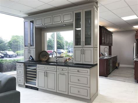 All Wood Cabinets by Kingston Grey Kitchen Cabinets