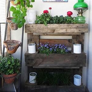Jardinière En Hauteur : 12 diy pour d corer son balcon marie claire ~ Nature-et-papiers.com Idées de Décoration