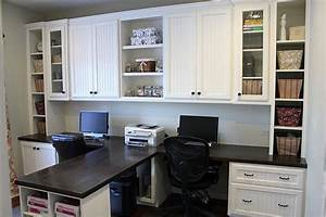 DIY - Dual Office desk make my house a home Pinterest