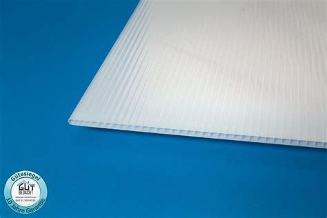 doppelstegplatten 6 mm polycarbonat stegplatte 6 mm st 228 rke hagelsicher f 252 r