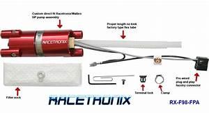 Racetronix 255l  Hr Fuel Pump Kit W   Harness 1998 Camaro