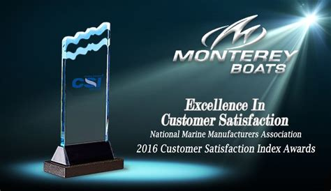 Monterey Boats Dealer Miami by Monterey Boats Awards Top Csi Dealers